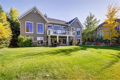 ❤ 7 Fishermans Bend Bungalow for sale in Elbow Valley Estates Bungalows For Sale, Calgary, Places To Go, Real Estate, Mansions, House Styles, Home, Manor Houses, Real Estates