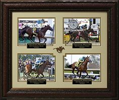 American Pharoah 2015 Grand Slam Champion Photo Collage Display -- Read more reviews of the product by visiting the link on the image.