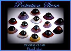 """MAGICAL MINERAL KINGDOM !  """" Believed to be used for protection """"  An unusual form of agate with concentric banding of different colors in a circular pattern and are often a combination of translucent agates and opaque jaspers. These beautiful stones wash up on a riverbank and are carved into the shape of an eye to represent the eye of Shiva!   3rd Eye Agate crystal stabilizes the aura, cleansing and smoothing dysfunctional energies, and both transforming and eliminating negativity."""