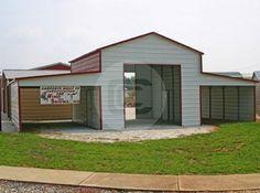 A-frame Style Carolina Barns – Boxed Eave Barns for Sale