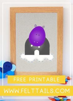 Hippo nursery wall printable, one of 12 free printables to choose from. For your nursery, playroom or kids bedroom. DIY your jungle themed nursery decor with these bright, colourful animals to download and print at home. Baby boy or baby girl? This artwork is an easy, low cost idea to brighten a gender neutral nursery wall. Create a gallery of elephant, lion, monkey, tiger, giraffe, hippo, parrot + more. #FeltTails #printable #nurserydecor Diy Nursery Decor, Playroom Decor, Nursery Art, Girl Nursery, Jungle Nursery, Themed Nursery, Nursery Themes, Nursery Neutral, Baby Boy Nurseries