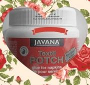 DEKOUPAGE ΚΟΛΛΑ Textil POTCH The range of glues from Art Center Tarkasis for daily life, office, school or for hobbies.