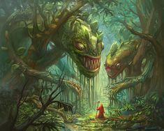 ArtStation - Jungle Deathtrap, Dimitar Bochukov