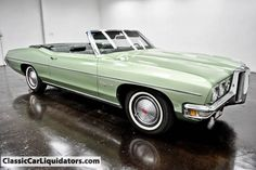 1970 Pontiac Catalina Convertible For Sale - Classic Car Liquidators Pontiac Catalina, Pontiac Cars, Grand Tour, Trains, Convertible, Boats, Classic Cars, Wheels, Ships