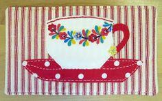 Mug Rug {time for tea}