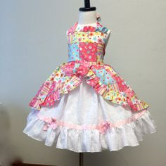girls Easter dress by SoSoHippo on Etsy, $62.00