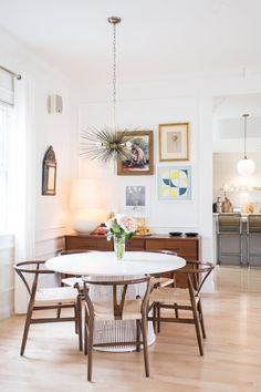 How High Should I Hang a Light Above the Dining Table? | Apartment Therapy