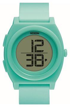 Nixon 'Time Teller' Digital Watch, 40mm