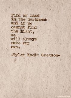 once by tyler knott gregson tattoo - Google Search