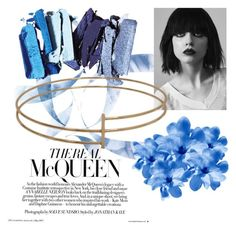 """Blue"" by smartdesign ❤ liked on Polyvore"