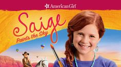 "Check out ""An American Girl: Saige Paints the Sky"" on Netflix"