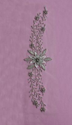 Swarovski Crystal Applique - MAINE