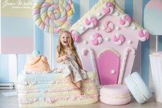 Decor Party Birthday Candy Land Ideas For 2019 Birthday Candy, 1st Birthday Girls, Diy Birthday, First Birthday Parties, Birthday Ideas, Gingerbread Decorations, Candy Party, Cupcake Party, Party Accessories