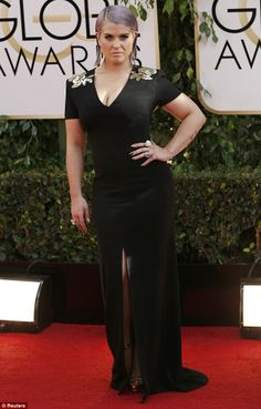 kelly osbourne golden globes 2014 | Golden Globes: 2014: Kelly Osbourne reveals wardrobe malfunction panic ...