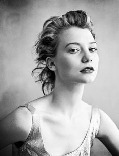 This girl is stunning - MIA WASIKOWSKA - such an old soul ... fell in love with her when I saw IN TREATMENT - everyone should see her performance in that show