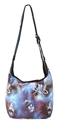 Doctor Who Police Public Call Box Tardis All Over Space Print Hobo Bag >>> Check out this great product.
