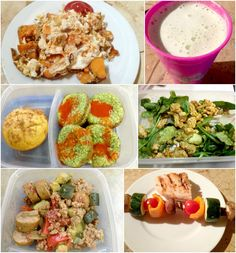 A days worth of clean eats