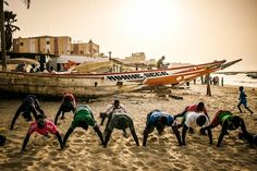 Gigantic grace: in the sands with Senegal's voodoo wrestlers   Art and design   The Guardian