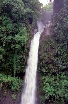 La Paz Waterfall near Poas Volcano