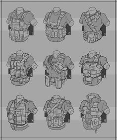 Chest rigs.                                                                                                                                                                                 More