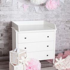 Babymöbel - XS ExtraRund! Wickelaufsatz IKEA Koppang Kommode - ein Designerstück von PuckDaddy bei DaWanda