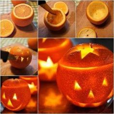 Halloweeni narancs-lámpás