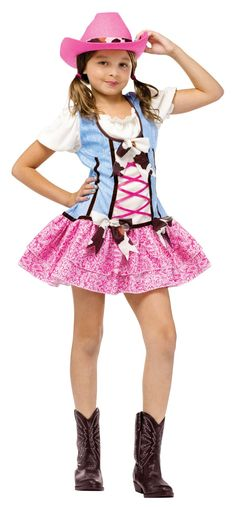 Amazon.com: Spirit Rodeo Sweetie Girls Costume Childs Small: Toys & Games
