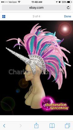 Head dress unicorn