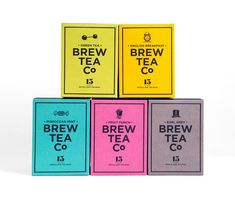 Tea company brews up colourful and creative packaging: