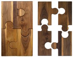 wooden cutting board prop...puzzle design