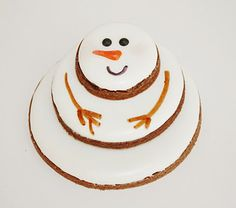 Stacked Snowman Cookie Decorating Inspiration