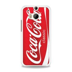 Coca Cola Red Can HTC One M8 Case | yukitacase.com