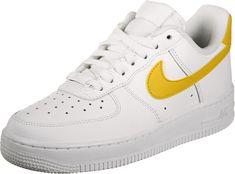 fd0c98c0603985 Nike Air Force 1  07 W Schuhe weiß gelb im WeAre Shop