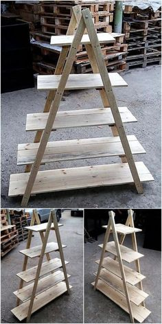16 Excellent And Awesome Repurposed Garden Decor - Diy Garden Decor İdeas Diy Pallet Projects, Garden Projects, Wood Projects, Woodworking Projects, Furniture Projects, Garden Ideas, Diy Garden, Pallet Ideas, Garden Plants