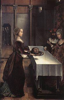 Juan de Flandes -salome 1496