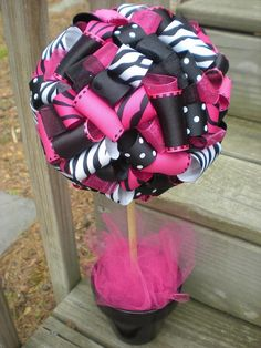 Black and Pink Candy Buffet My Glow Day Pinterest Pink