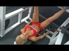 This is a great butt and leg workout in the gym. If you want a nice round butt and sexy legs give these butt and leg exercises a try. In this workout Female Fitness Model Chelsey Novak is doing a variety of butt and leg exercises to get a great lower body workout. This can be done 2-3x per week. Exercises shes doing...