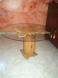 Tavolo in legno trasportabile di afcreazioni su Etsy