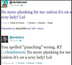"""No matter how much I hate Fox News, I cannot deny the ownage Andy Levy laid on Chris Brown. Transcript from the broadcast where Andy """"apologizes"""" is at http://imgur.com/gallery/mTkVn"""