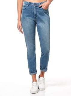 Riders By Lee Girlfriend In Indigo Tribe   Just Jeans