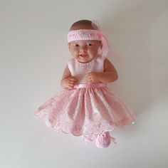 Handmade Baby Dolls Clothes for 1214 BERENGUER / by FizziesFrocks