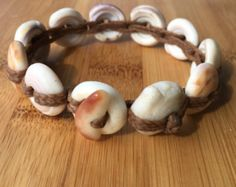 Mermaid friendly natural tiger puka shell by MakamaeOMolokai