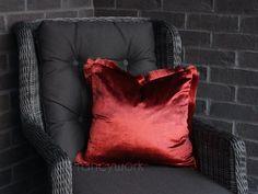 Plain Cushions, Velvet Cushions, Initial Cushions, Blue Options, Electric Blue, Tassels, Pillow Covers, Throw Pillows, Color