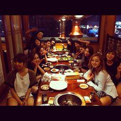 {04082012} Wonder Girls' Lim (@WG_Lim) twitter update >> ❝JYP Girls~~~~❞ ▲Wonder Girls (along with Sunmi), miss A , JoKwon & WooYoung. HOHO!