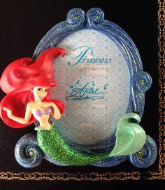 Disney Parks Princess Ariel Little Mermaid Photo Picture Frame