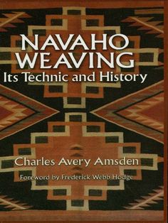 First in-depth study of the technical aspects of Navaho weaving, plus history of the loom and its prototypes in the prehistoric Southwest, analysis and description of weaves, dyes, and more.