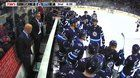 awesome Winnipeg Jets' Matt Hendricks takes a skate to the face and briefly leaves the ice; goes on to score a goal to tie it up later in the game.