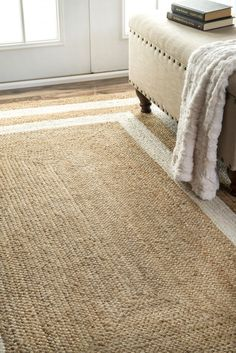 Rugs USA - Area Rugs in many styles including Contemporary, Braided, Outdoor and Flokati Shag rugs.Buy Rugs At America's Home Decorating SuperstoreArea Rugs Natural Area Rugs, Natural Rug, Border Rugs, Rectangle Area, Buy Rugs, Rugs Usa, Jute Rug, Floor Decor, Contemporary Rugs