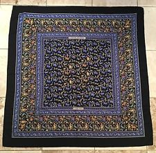 "Authentic HERMES 140CM CASHMERE SILK GM SCARF ""Chasse En Inde"""