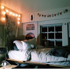 Twinkle lights add a comforting sparkle to your room -